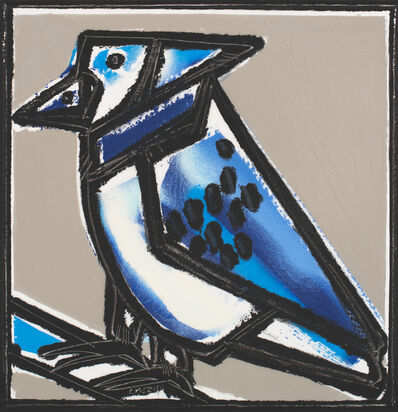 America Martin, 'The Blue Jay',