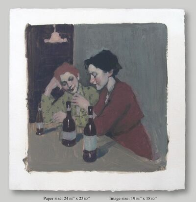 Malcolm T. Liepke, 'Two Women Drinking', 2001