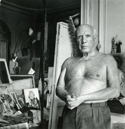 Ludo Bert, 'Picasso à la Californie, Cannes', ca. 1956