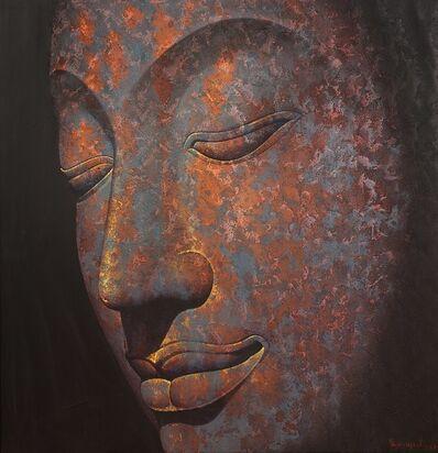 Pajonyut Puvijarn, '3D Bronze Buddha ', 2017