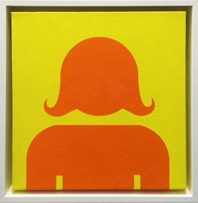 Stephen Gamson, 'PORTRAIT (ORANGE ON YELLOW)', UNKNOWN