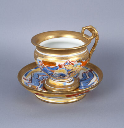 Viola Frey, 'Untitled (Cup and Saucer) A la Manufacture de Sevres Series ', 1986