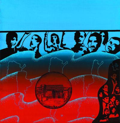 Elda Cerrato, 'Serie de la Realidad: Sueños. El Sueño de la Casita Propia II', 1976