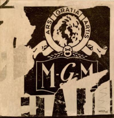 Mimmo Rotella, 'Ars-Gratia-Artis', 1963