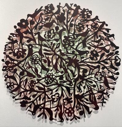 Toyin Loye, 'Meeting Place', 2021