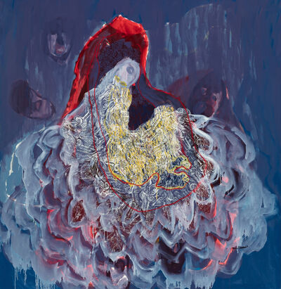 Portia Zvavahera, 'Zvandiswededza (It has drawn me closer)', 2017