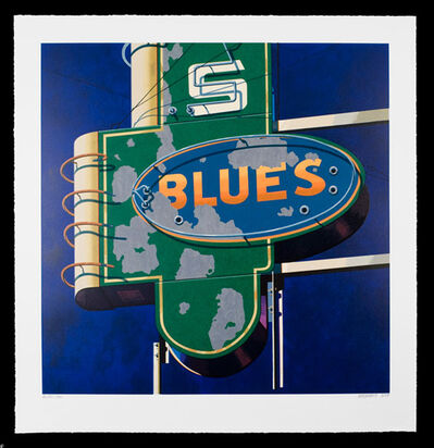 Robert Cottingham, 'Blues, from American Signs Portfolio', 2009