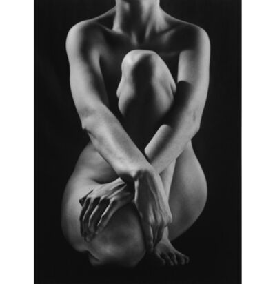 Ruth Bernhard, 'Classic Nude with Hands', 1952