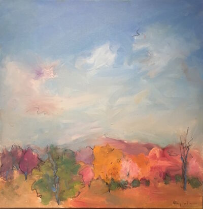 Mary Page Evans, 'Spring Trees', 2014