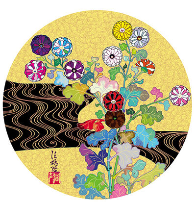 Takashi Murakami, 'The Golden Age: Kōrin – Kansei', 2014