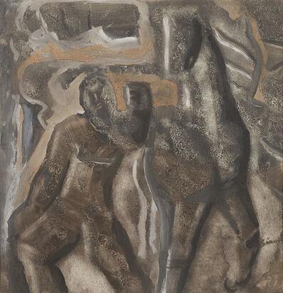 Mario Sironi, 'Composizione con cavallo', 1940 circa