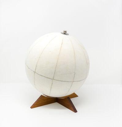 Agustina Woodgate, 'Untitled (World Globe) Hand-sanded mid-century World Globe, 10 in. diameter — $ 5,000', 2019