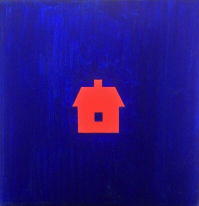 Albert Mertz, 'Blät Rum Med Rødt Hus', 1981