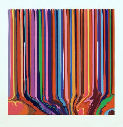 Ian Davenport, 'Pale Blue / Lilac Duplex Colorplan', 2013