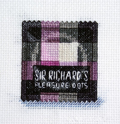 Katrina Majkut, 'Condom: Sir Richard's Pleasure Dots', 2019