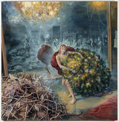 Julie Heffernan, 'Self-Portrait as Gatherer', 2017