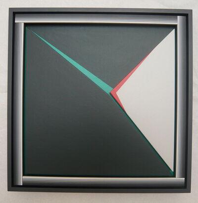 Dario Perez-Flores, 'triangle noir-rouge-vert n°23', 1995