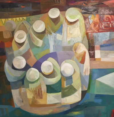 Mohammed Abu Alwafa, 'Spiritual Circle'