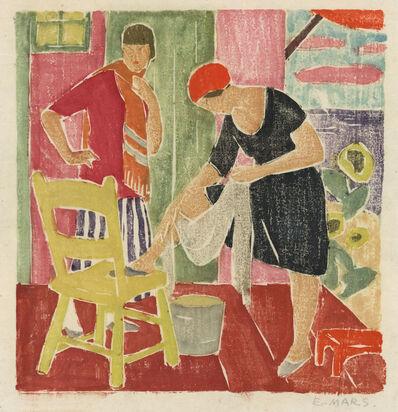 Ethel Mars, 'Dressing Room. [untitled].', ca. 1920.