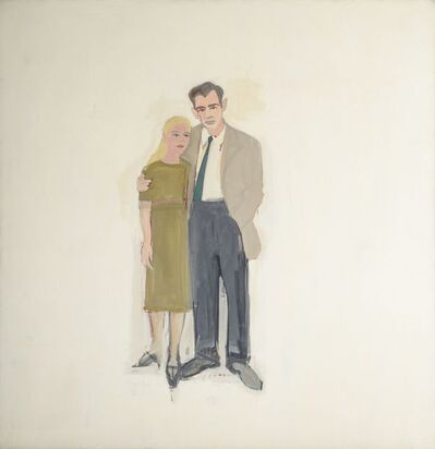 Alex Katz, 'Irving and Lucy', 1958