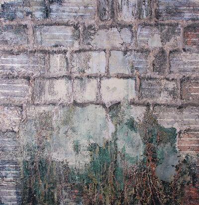 John J. Bedoya, 'Muro 2:  Arena, oleo y acrilico', 2010