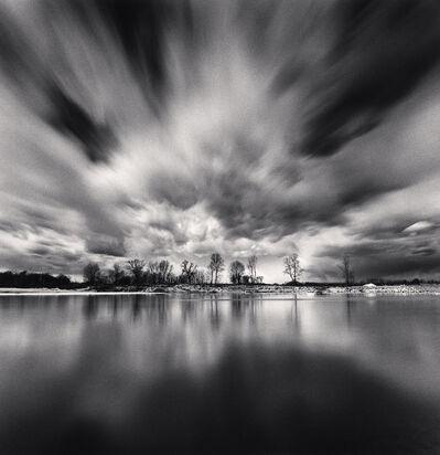 Michael Kenna, 'Dramatic Clouds, Sannazzaro dè Burgondi, Pavia, Italy', 2019
