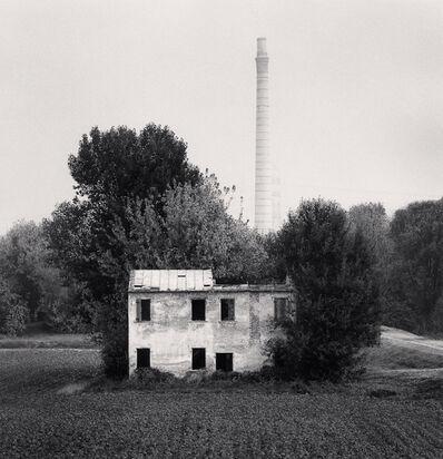 Michael Kenna, 'Abandoned Building and Chimneys, Ariano nel Polesine, Rovigo, Italy', 2018