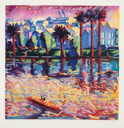 Carlos Almaraz, 'Echo Park Three', 1990