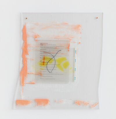 Sara Greenberger Rafferty, 'Gloves and Journal Script', 2016