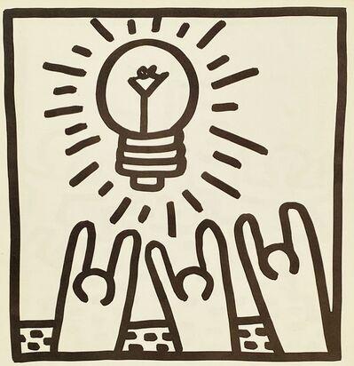 Keith Haring, ' Keith Haring 1982 lithograph (Keith Haring prints)', 1982