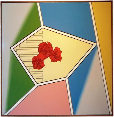 Patrick Caulfield, 'Three Roses', 1963