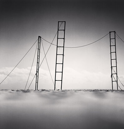Michael Kenna, 'Three Ladders, Sampo Beach, Gangwndo, South Korea', 2006