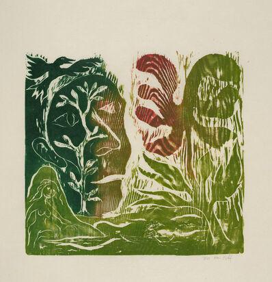 Ken Kiff, 'Green Flower', 1991