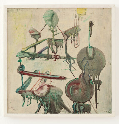 Christian D'Orgeix, 'Composition', 1963