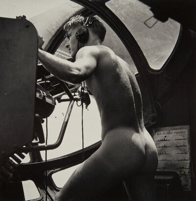 Horace Bristol, 'PBY Blister Gunner, Rescue at Rabau', 1944-printed later