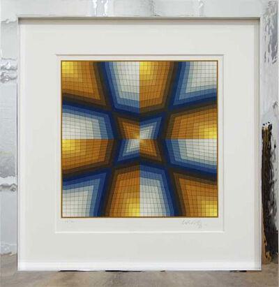 Victor Vasarely, 'Esthajnal - Stern des Ostens', 1986