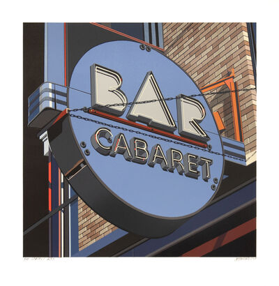 Robert Cottingham, 'Bar Cabaret', 2019