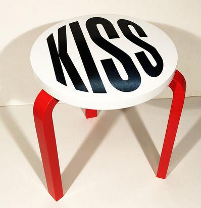 Barbara Kruger, 'Untitled (Kiss) (2019)', 2019