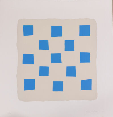 Breon O'Casey, 'Blue Squares', 2001