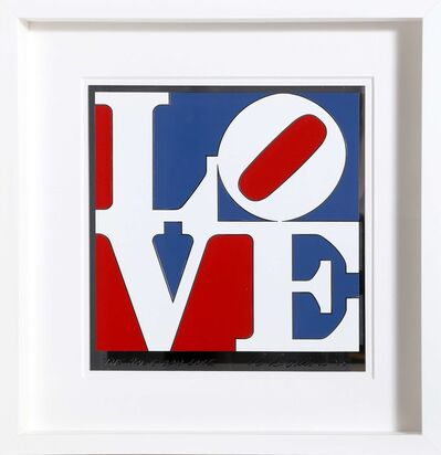 Robert Indiana, 'The American Love', 1975