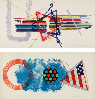James Rosenquist, 'Elbow Lake; and Violent Turn', 1977
