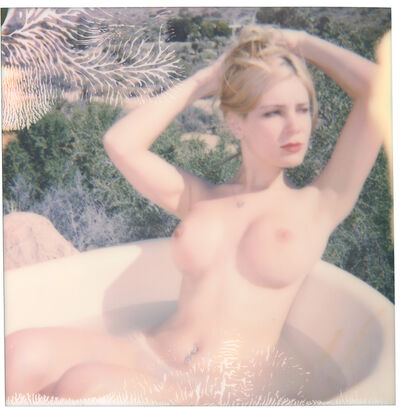 Stefanie Schneider, 'Angie - Heavenly Falls - Contemporary, 21st Century, Polaroid, Nude, Color', 2016