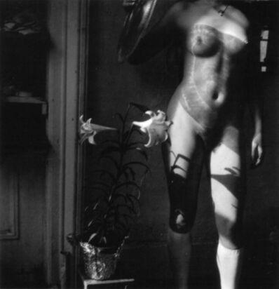 Francesca Woodman, 'Easter Lilies', 1976