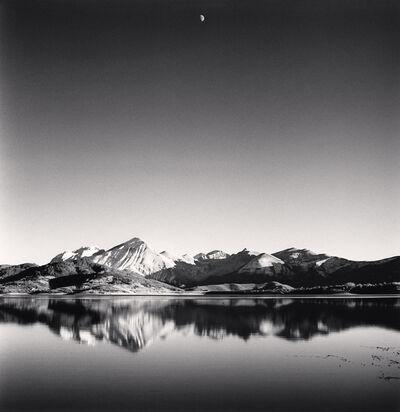 Michael Kenna, 'Gibbous Moon, Lake Campotosto, Abruzzo, Italy', 2016