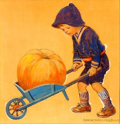JESSIE WILLCOX SMITH, 'Thanksgiving, Good Housekeeping Magazine Cover', 20th Century