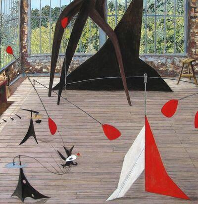 Damian Elwes, 'Calder's Studio in Saché/France', 2019