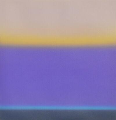 Wayne Viney, 'Sea with Violet Cloud I Study, (framed)', 2018