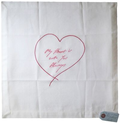 Tracey Emin, 'MY HEART IS WITH YOU ALWAYS ', 2015