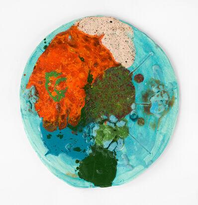 Polly Apfelbaum, 'Hard Moon', 2018