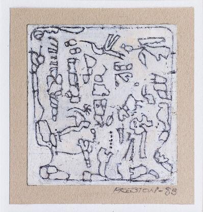 Robert Preston, 'Lyric ornament for a Pellucid cup', 1983